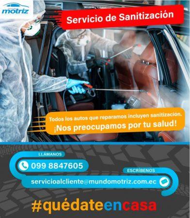Sanitización Mundo Motriz